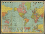 Cleartype general map of the World on Mercator's projection: featuring all political divisions, principal cities, and...